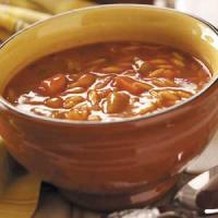 Fresh Vegetable Basil Soup