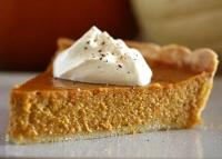 Holiday Pumpkin Pie