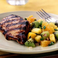 Mesquite Grilled Chicken With Pineapple Salsa