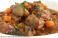 how to make beef casserole