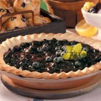Blueberry Cream Cheese Pie