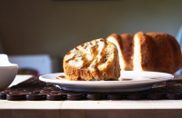 Walnut Pound Cake