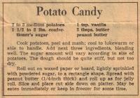 Potato Candy