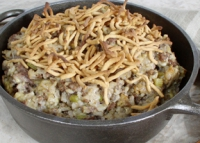 Hamburger Rice Hot Dish