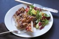 Pork Chop And Corn Stuffing Bake
