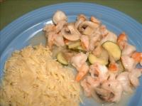 Low-Fat Shrimp Scampi