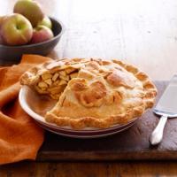 No Crust Apple Pie
