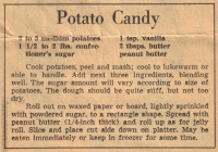 Potato Candy