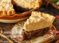 Raisin Meringue Pie