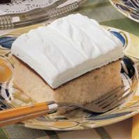 White Fudge Cake