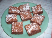 Black Russian Brownies