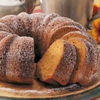 Blueberry Pumpkin Pound Cake