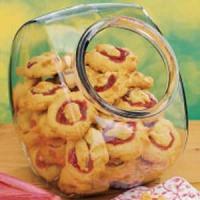 Rhubarb Filled Cookies