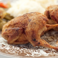 Fried Quail
