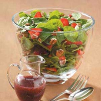 Strawberry-Spinach Salad