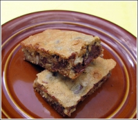 Microwave Chocolate Chip Bars