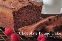Seven Flavor Pound Cake