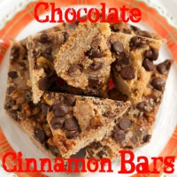 Chocolate Cinnamon Bars