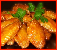 Oriental Chicken Wings