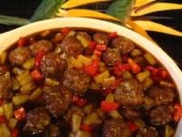 Meatballs Hawaiian