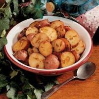 Crisp Onion-Roasted Potatoes