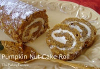 Pumpkin Nut Roll