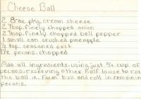 Three Cheese Ball