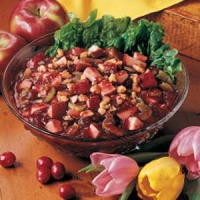 Cran-apple salad