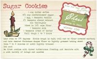 Friendship sugar cookies