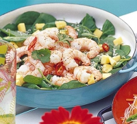 Spinach Salad With Dressing