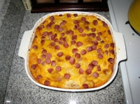Potato Sausage Casserole