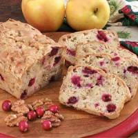 Cranberry Apple Bread