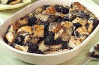 Oreo bread pudding