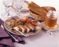 Oven-Fried Honey Chicken