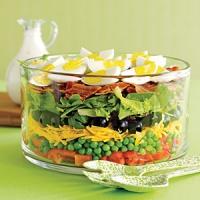 Seven Layered Salad