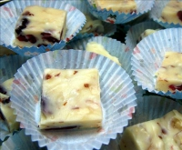 White Almond Fudge