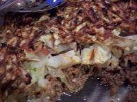 Cabbage Beef Casserole