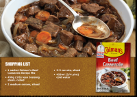 Beef Casserole Supreme