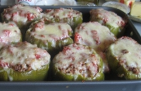 No Bake Stuffed Peppers