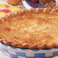 Pineapple Coconut Pie