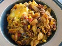 Corn And Noodle Casserole