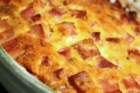Crustless Ham Quiche