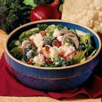 Parmesan Vegetable Toss