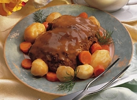 Barbecued Pot Roast
