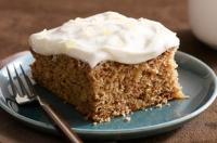 Applesauce date cake