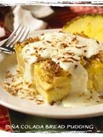 Pina Colada Bread Pudding