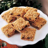 Raisin Cream Bars