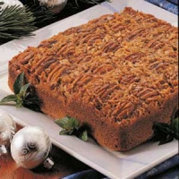 Upside Down German Chocolate Cake