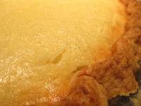 Buttermilk coconut pie