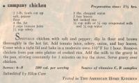 Company Chicken
